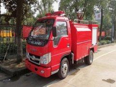 福田消防洒水车 - 3吨消防洒水车价格、报价、厂家
