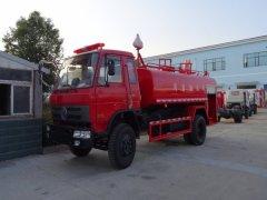 东风消防洒水车 - 10吨消防洒水车价格、报价、厂家