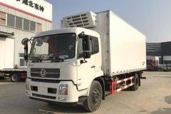 东风天锦平顶冷藏车 - 6米8冷藏车价格、报价、厂家