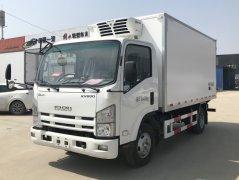 庆铃五十铃KV600冷藏车 - 4米2冷藏车价格、报价、厂家