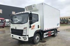 重汽豪沃冷藏车 - 4米2冷藏车价格、报价、厂家