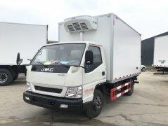 江铃顺达宽体冷藏车 - 4米2冷藏车价格、报价、厂家