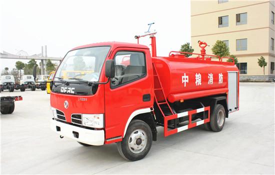 东风福瑞卡消防洒水车|5吨消防洒水车