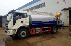 福田瑞沃雾炮洒水车 - 12吨雾炮洒水车价格、报价、厂家