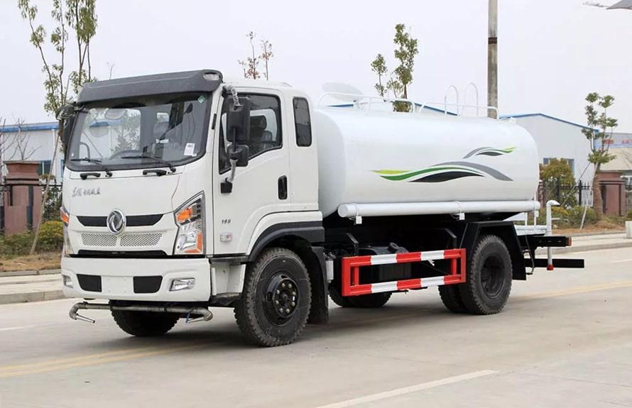 东风新款12吨洒水车整车图片A