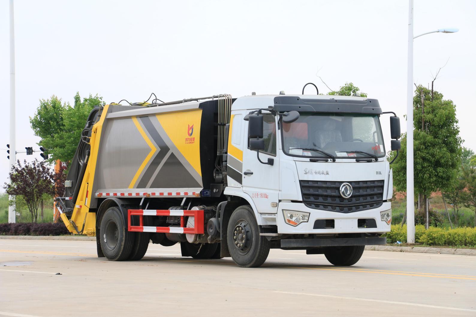 东风专底D3压缩垃圾车价格、报价、厂家