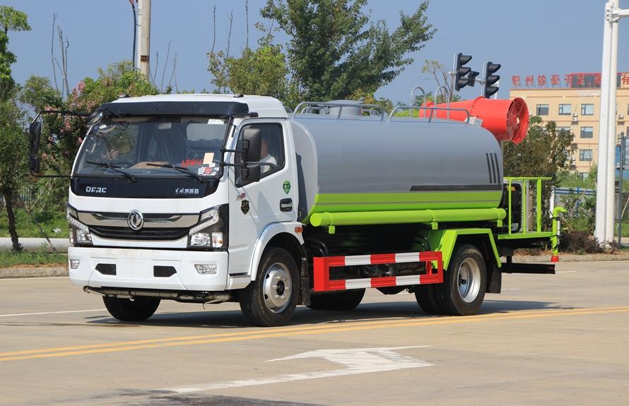 东风9吨国六喷雾洒水车整车图片A