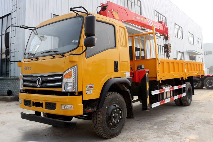 东风三一7吨随车吊价格、报价、厂家